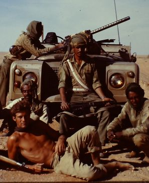 Ran Fiennes and his desert patrol in the 1970's where they fought for the Sultan of Oman in the Empty Quarter deserts and the deep monsoon forests of Dhofar against Soviet trained Marxist guerrillas